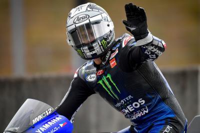 Tre Yamaha al comando della FP1