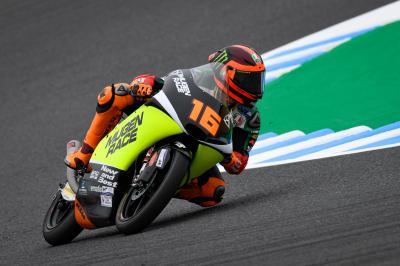 Migno motors to Motegi top spot in frantic Moto3™ FP2