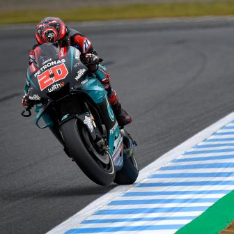 Quartararo verdrängt Viñales am Ende des Freitags in Japan