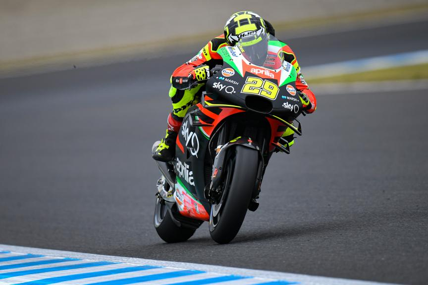 Andrea Iannone, Aprilia Racing Team Gresini, Motul Grand Prix of Japan