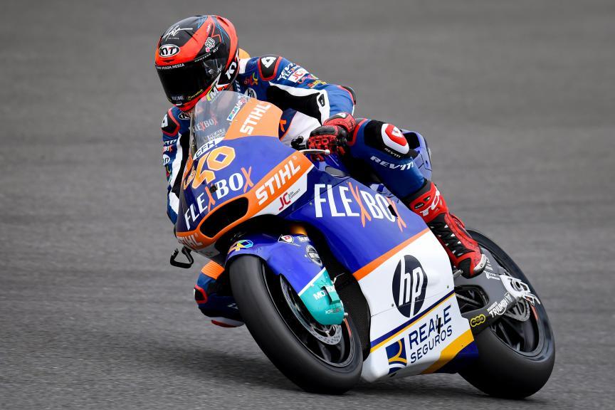 Augusto Fernandez, Flex-Box HP40, Motul Grand Prix of Japan