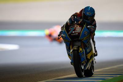 Marquez besiegt Binder und beendet das Moto2™ FP2 auf P1