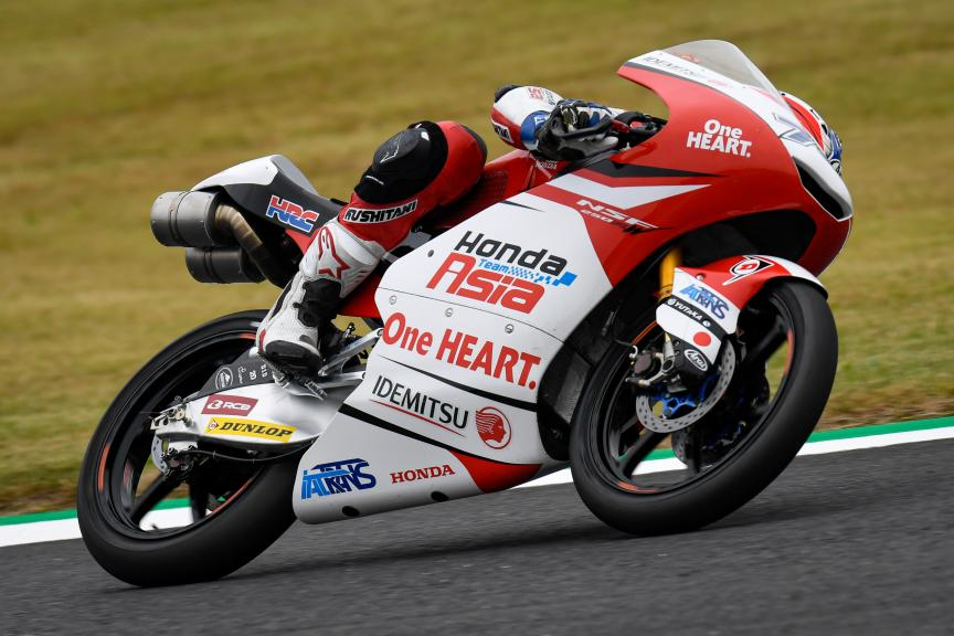 Ai Ogura, Honda Team Asia, Motul Grand Prix of Japan