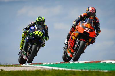 Rossi : « Zarco aurait été important comme pilote Test »
