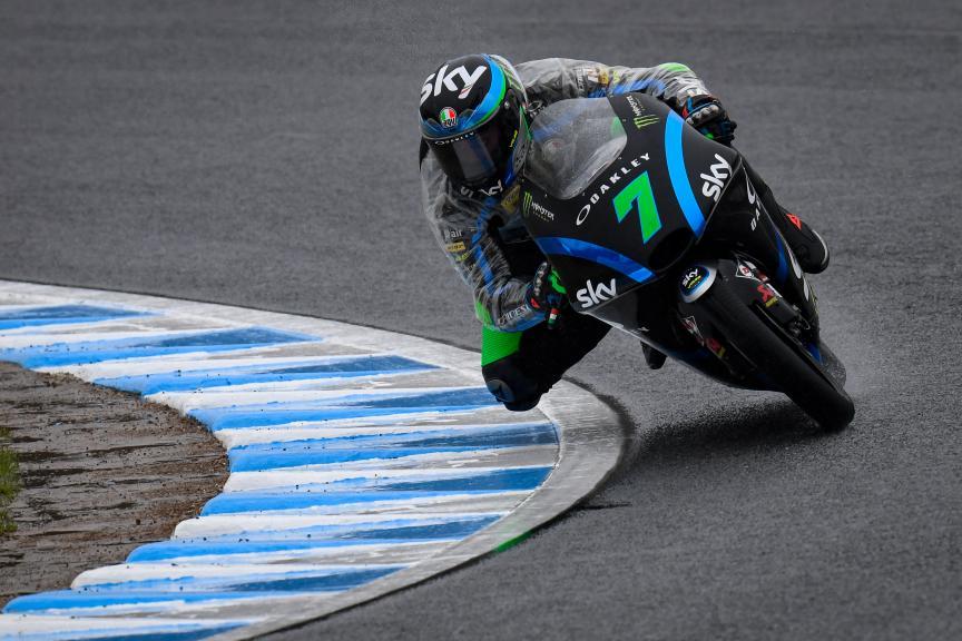 Dennis Foggia, Sky Racing Team VR46, Motul Grand Prix of Japan
