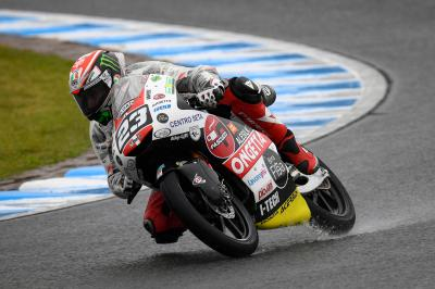 Q1 to P1: Antonelli fights through the pain to bag pole