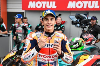 """Marquez: """"Dobbiamo essere veloci per battere le Yamaha"""""""