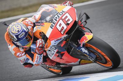 Première pole de Márquez en MotoGP™ au Japon !