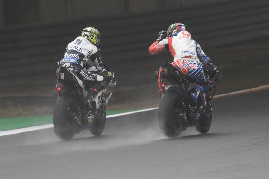 Karel Abraham, Francesco Bagnaia, Motul Grand Prix of Japan