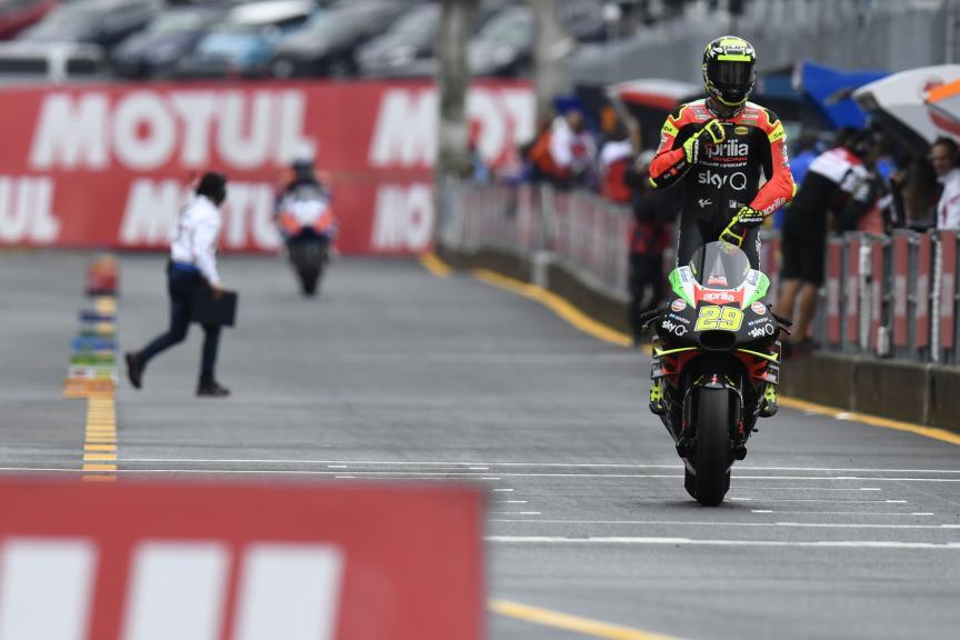 Andrea Iannone, Aprilia Racing Team Gresini, Motul Grand Prix of Japan