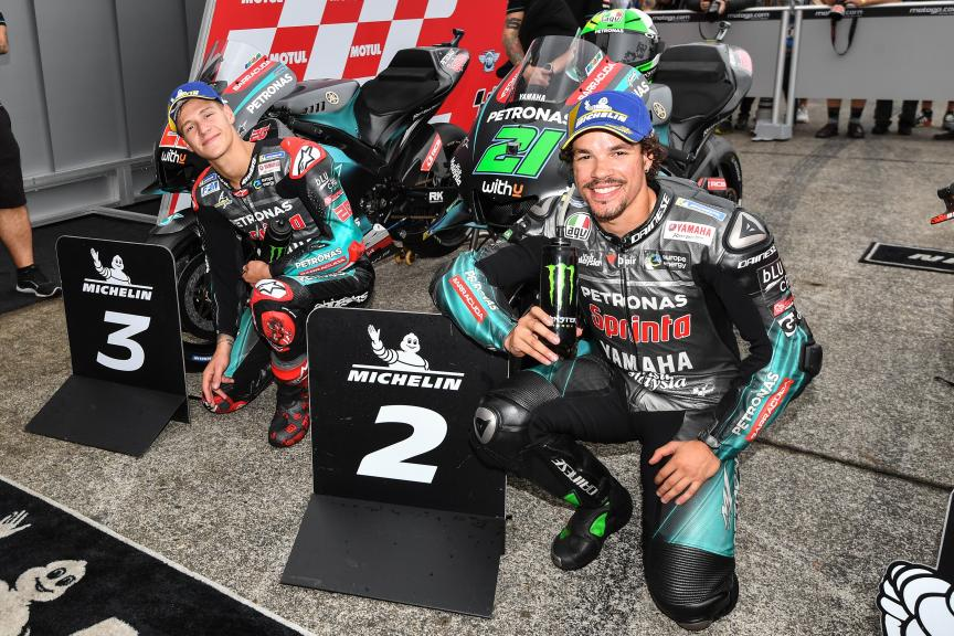 Franco Morbidelli, Fabio Quartararo, Petronas Yamaha SRT, Motul Grand Prix of Japan