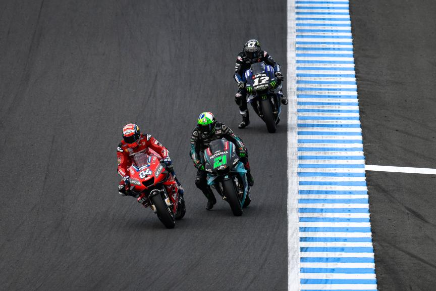 Andrea Dovizioso, Franco Morbidelli, Motul Grand Prix of Japan