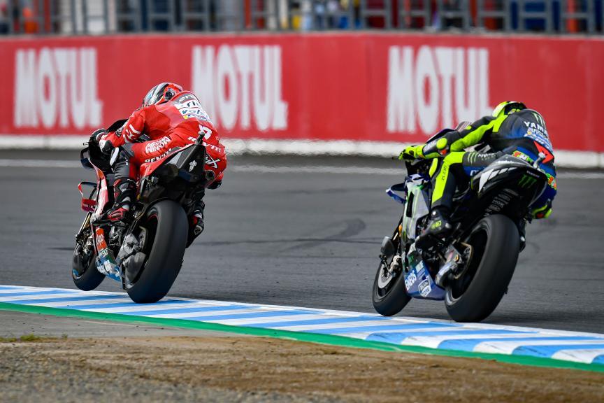 Danilo Petrucci, Valentino Rossi, Motul Grand Prix of Japan