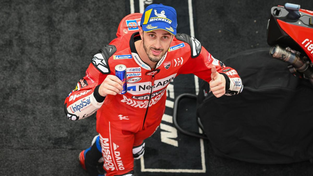 Dovizioso celebrates 100th podium in Japan