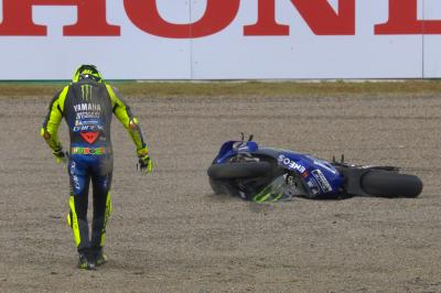 A Sunday to forget for Rossi