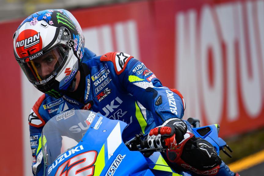 Alex Rins, Team Suzuki Ecstar, Motul Grand Prix of Japan