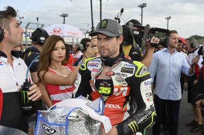 Cal Crutchlow freut sich über Top 5 beim Heim-GP von Honda