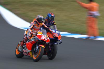 Marquez' Rennen fand in Japan beinahe ein frühes Ende