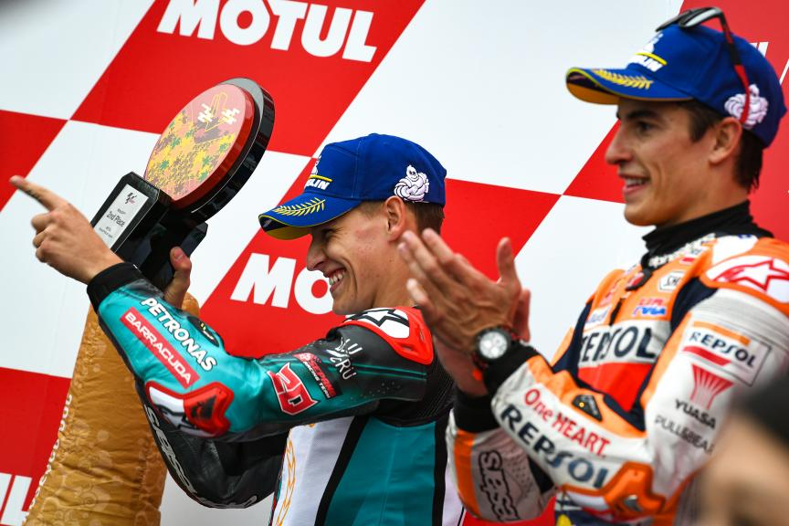 Marc Marquez, Fabio Quartararo, Motul Grand Prix of Japa