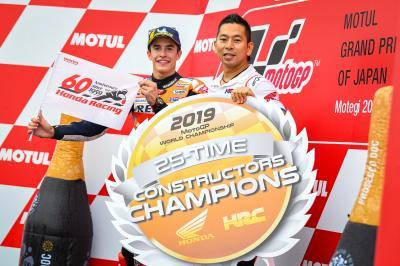 Márquez y Honda reinan en Japón ante el Rookie del Año