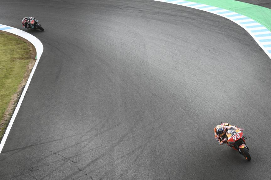Marc Marquez, Fabio Quartararo, Motul Grand Prix of Japan