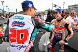 Marc Marquez, Fabio Quartararo, Motul Grand Prix of Japan