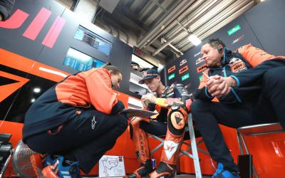 After the Flag en bref : Le week-end japonais de KTM...