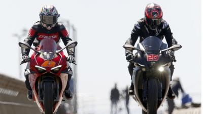 Anyone spot these #MotoGP riders on the Victorian roads?