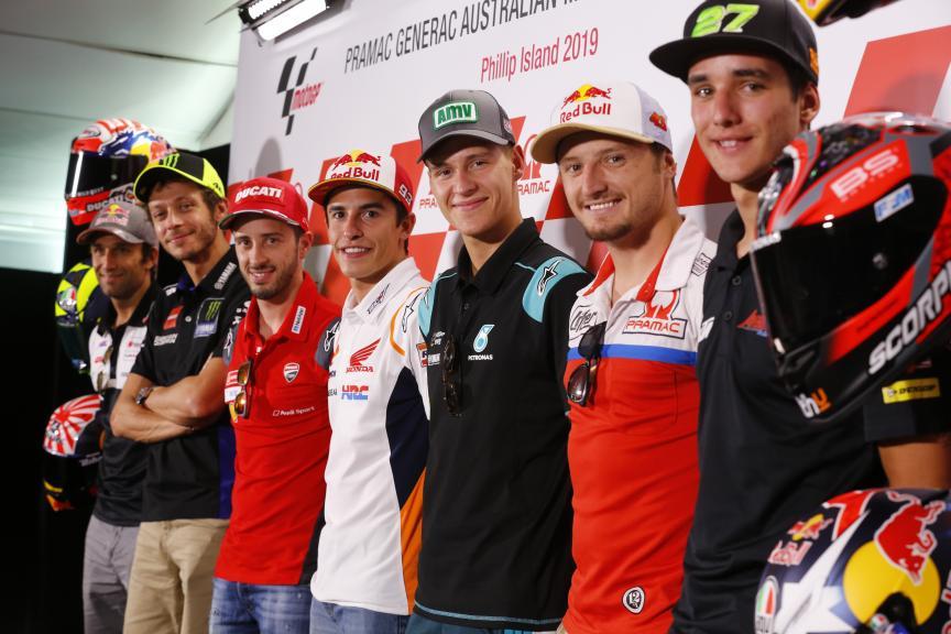 Press-Conference, Pramac Generac Australian Motorcycle Grand Prix