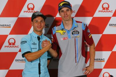 Match point in Moto2™ and Moto3™