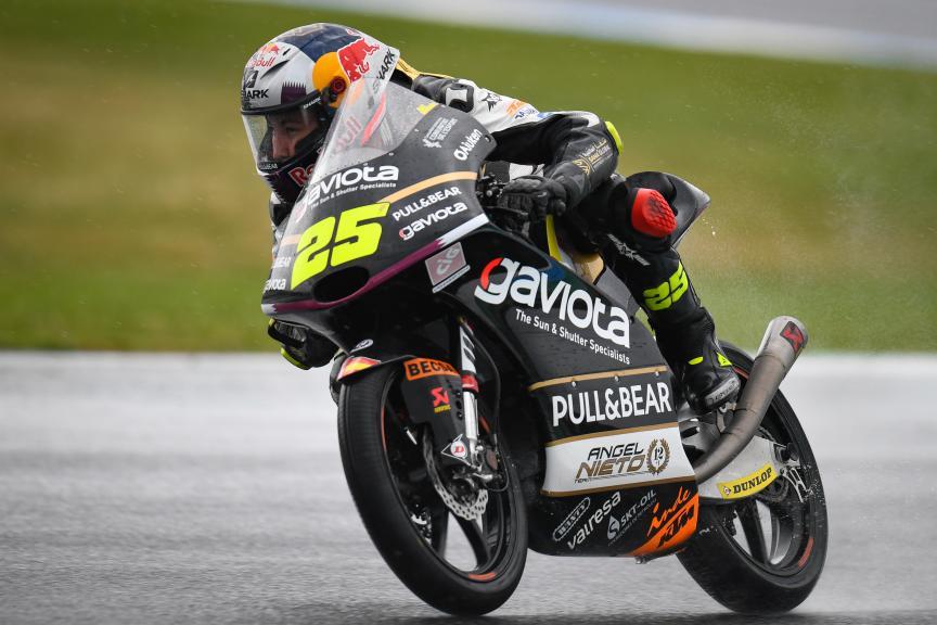 Raul Fernandez, Gaviota Angel Nieto Team, Pramac Generac Australian Motorcycle Grand Prix