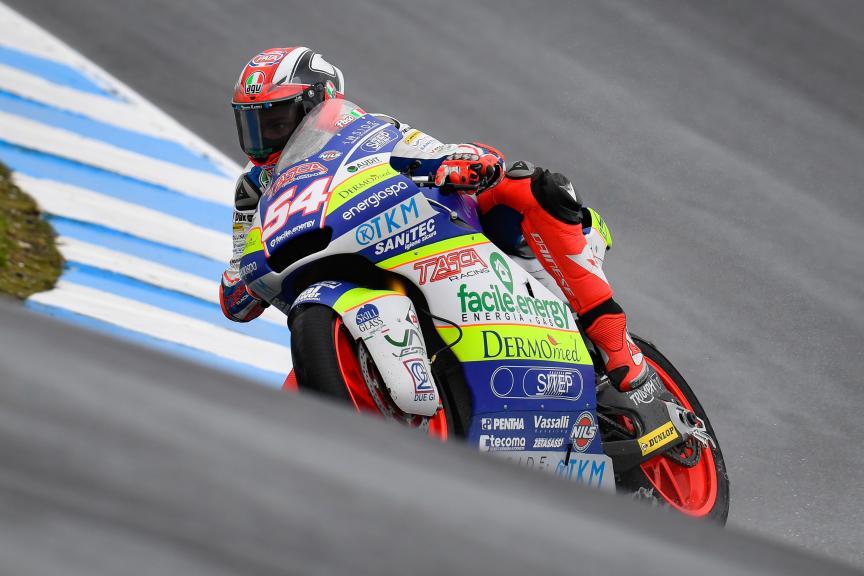 Mattia Pasini, Tasca Racing Scuderia, Pramac Generac Australian Motorcycle Grand Prix