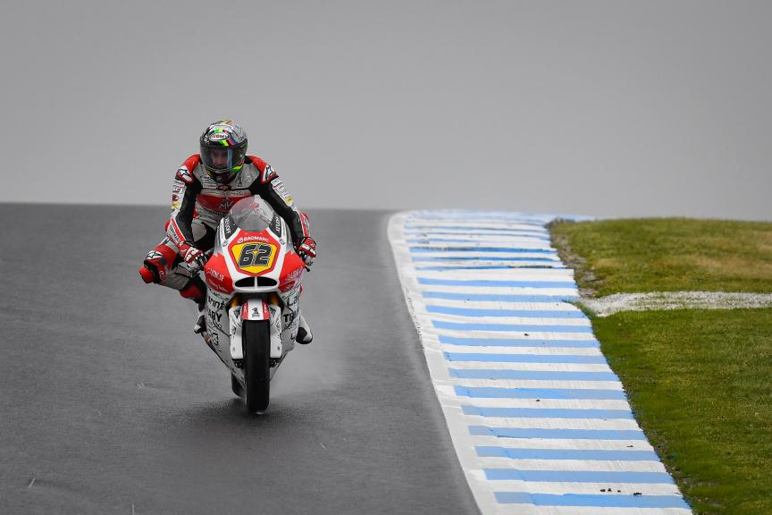 Stefano Manzi, MV Augusta Temporary Forward, Pramac Generac Australian Motorcycle Grand Prix