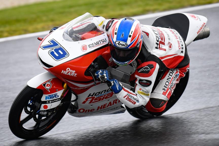 Ai Ogura, Honda Team Asia, Pramac Generac Australian Motorcycle Grand Prix
