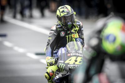 Rossi lidera la segunda unidad de Yamaha