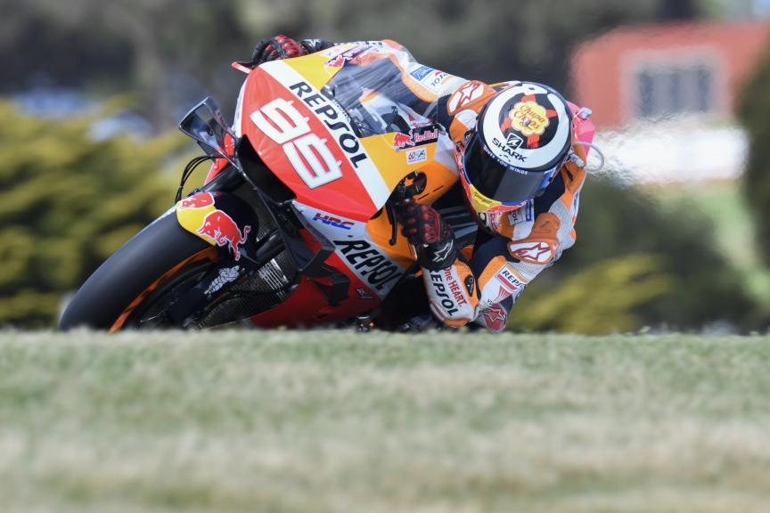 Jorge Lorenzo, Repsol Honda Team, Pramac Generac Australian Motorcycle Grand Prix