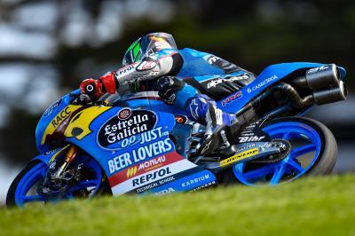 Garcia Schnellster im trockenen Moto3™ Warm-Up