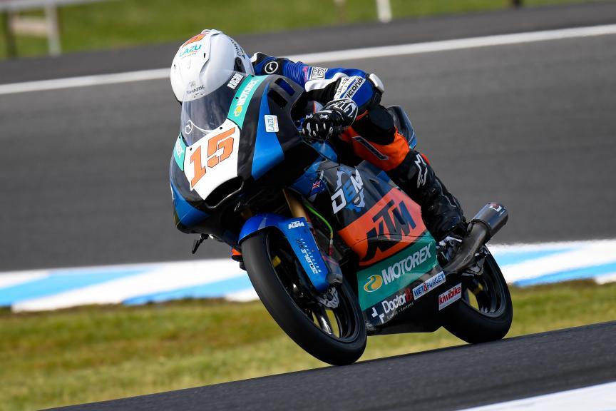 Rogan Chandler, Double Six Motor Sport, Pramac Generac Australian Motorcycle Grand Prix