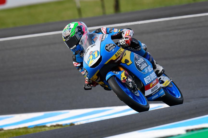 Alonso Lopez, Estrella Galicia 0,0, Pramac Generac Australian Motorcycle Grand Prix