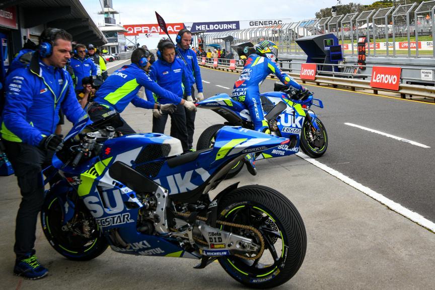 Joan Mir, Team Suzuki Ecstar, Pramac Generac Australian Motorcycle Grand Prix