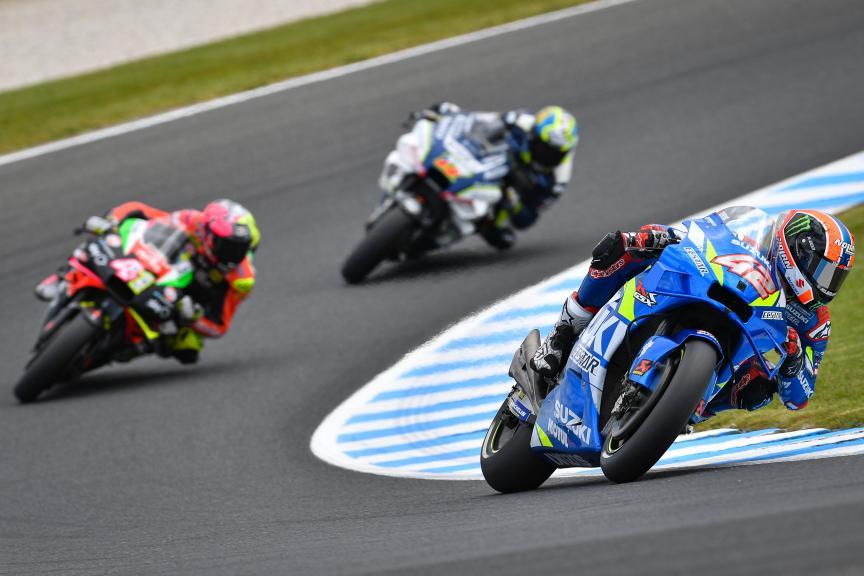 Alex Rins, Team Suzuki Ecstar, Pramac Generac Australian Motorcycle Grand Prix