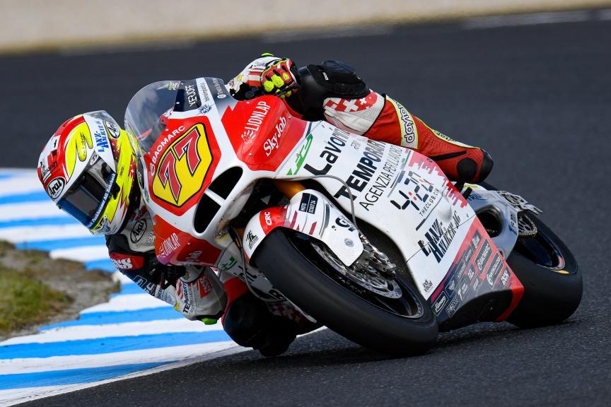 Dominique Aegerter, MV Augusta Temporary Forward, Pramac Generac Australian Motorcycle Grand Prix