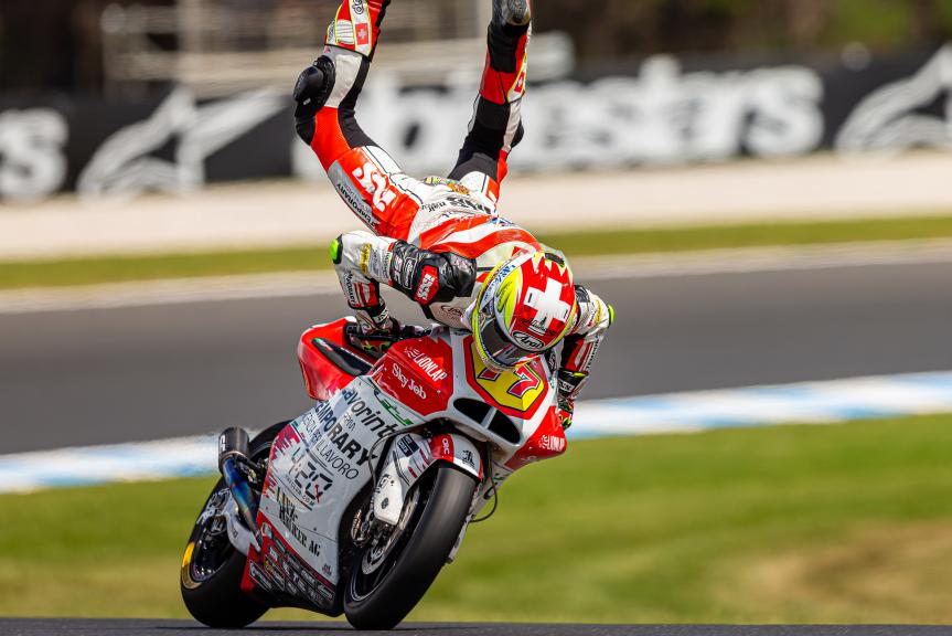 Dominique Aegerter, MV Augusta Temporary Forward, Pramac Generac Australian Motorcycle Grand Prix, © Dave Hewison