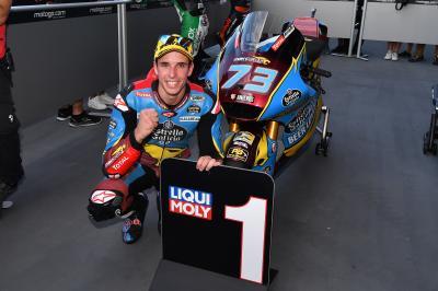 Marquez, campione del mondo in Moto2™ a Phillip Island se...