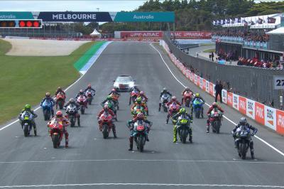 ¡La salida de infarto del GP de Australia!