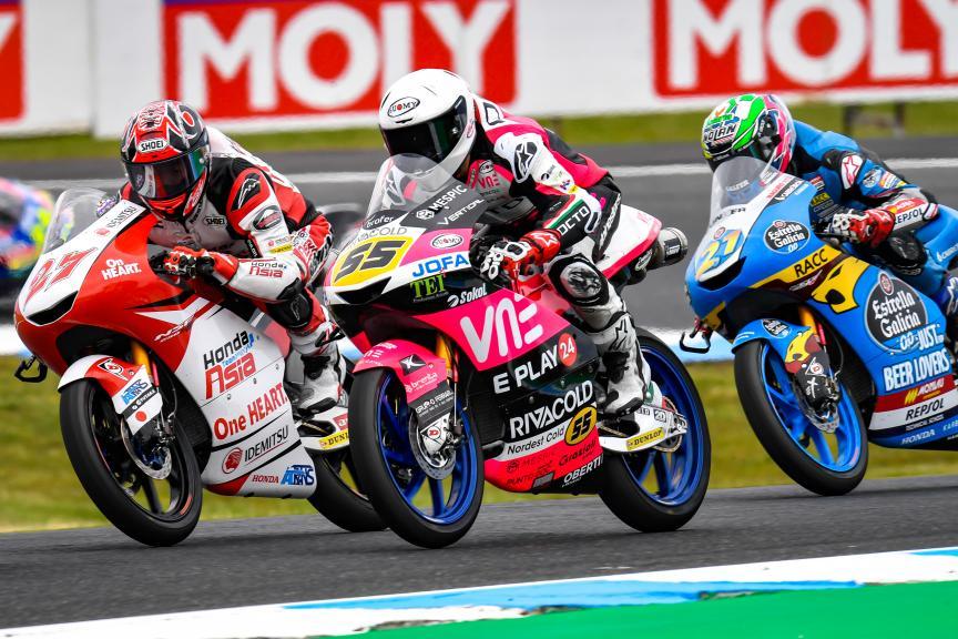 Kaito Toba, Honda Team Asia, Pramac Generac Australian Motorcycle Grand Prix