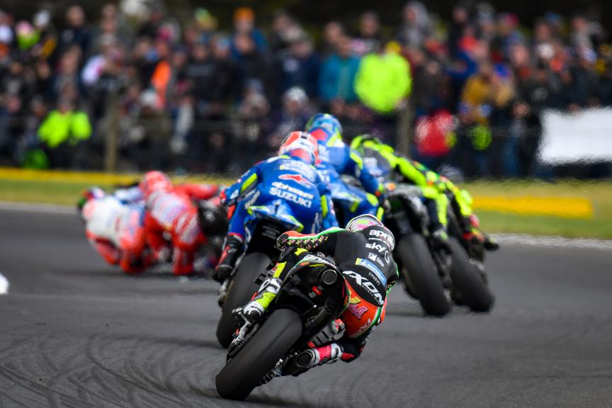 Aleix Espargaro, Aprilia Racing Team Gresini, Pramac Generac Australian Motorcycle Grand Prix