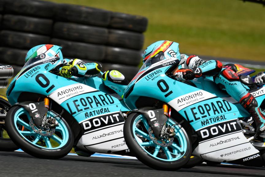 Lorenzo Dalla Porta, Marcos Ramirez, Leopard Racing, Pramac Generac Australian Motorcycle Grand Prix