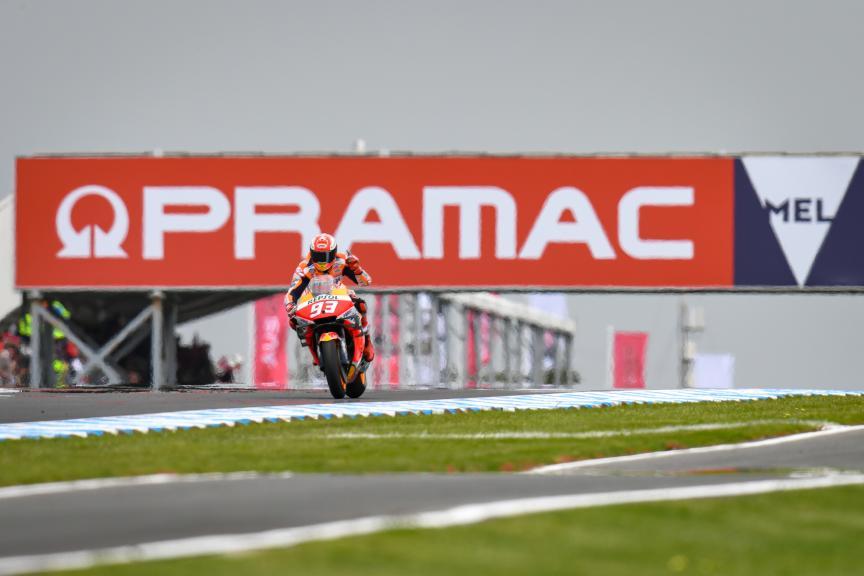 Marc Marquez, Repsol Honda Team, Pramac Generac Australian Motorcycle Grand Prix