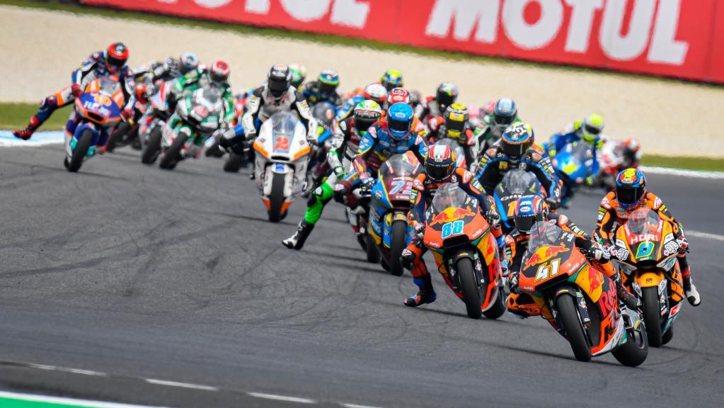 tc moto2 race